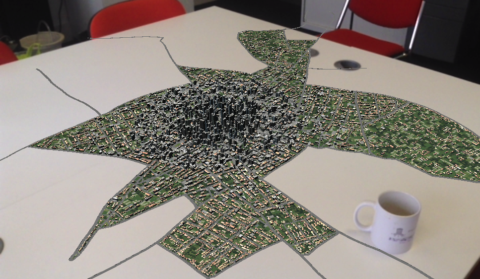 Table Top AR City