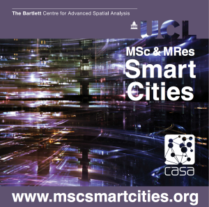 MSc Smart Cities