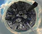 How To Create Aerial Panoramas from Virtual Earth