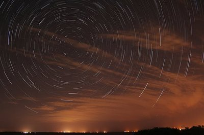 Tutorial: Image Stacking for Star Trails and City Air Activity at Night