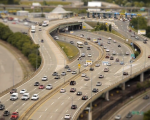 Sketches of Boston Traffic: Tilt-Shift Timelapse