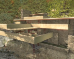 Frank Lloyd Wright: Fallingwater in Half Life and CAD