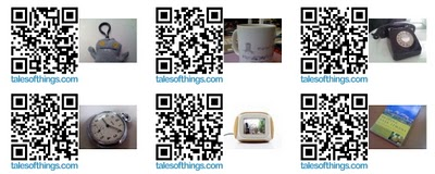 Spark of Genius Series: TalesofThings QR Codes and Life Logging