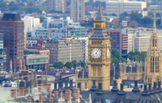 High on London: Tilt-Shift City