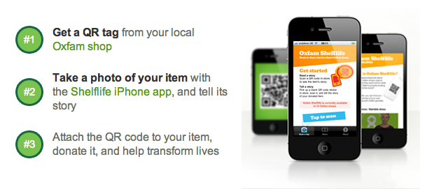 Oxfam Shelflife: Making Charity Shops Social Museums via the Internet of Things