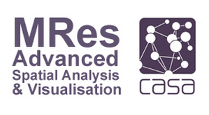 CASA: MRes Advanced Spatial Analysis and Visualisation