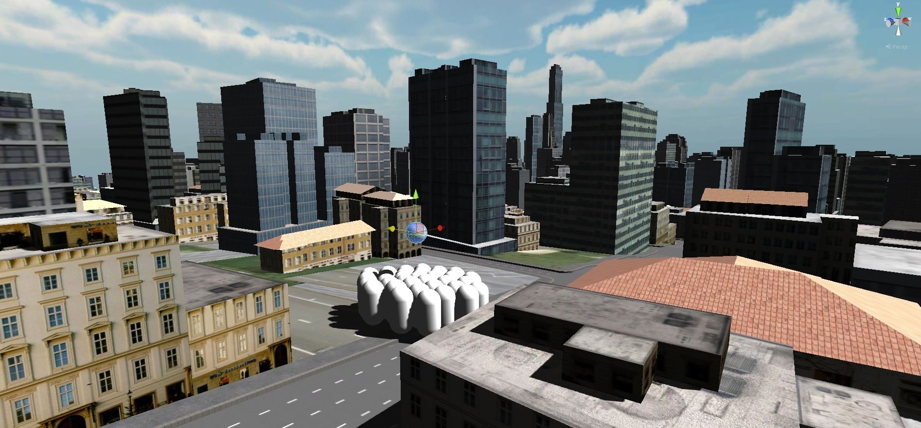 Shortest Path Modelling and NavMesh in Unity and CityEngine