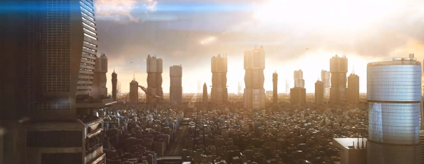 Mega City One – Greeble and After Effects