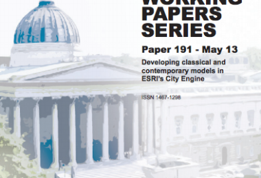 Developing Classical and Contemporary Models in ESRI's City Engine  – CASA Working Paper 191