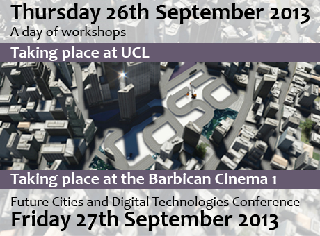 CASA Barbican Cinema One Trailer and Live Stream: Future Cities and Digital Technologies