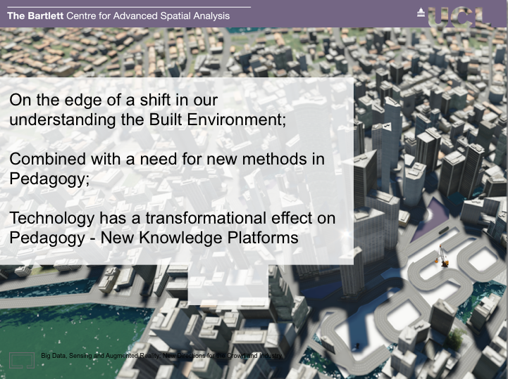 Pedagogy meets Big Data and BIM