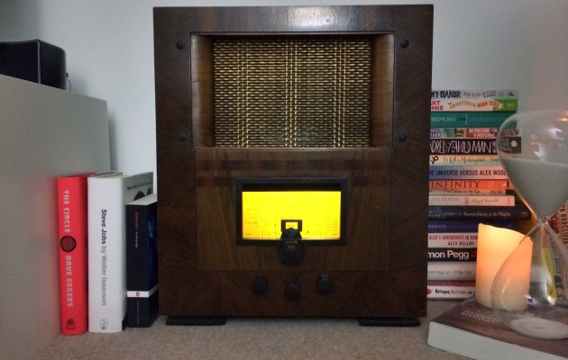 Linking a 1940's Radio to the Internet of Things